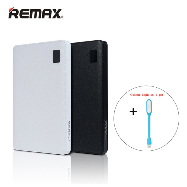 Remax-Proda Notebook Mobile power bank 30000mAh 4 USB External Battery Charger universal external battery power Bank 30000 mAh