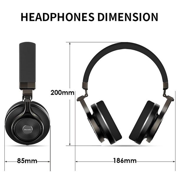 Bluedio T3  Wireless Bluetooth  Headphones/headset with microphone for music wireless earphone