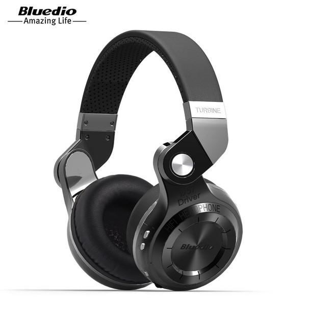 Bluedio T2S(Shooting Brake) Bluetooth stereo headphones wireless headphones Bluetooth 4.1 headset on-Ear headphones