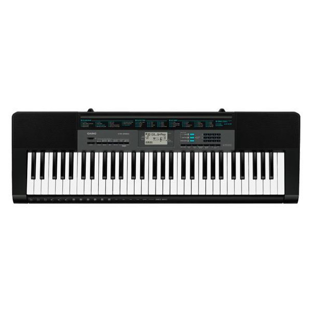 Casio CTK-2550 61 Key Standard Portable Keyboard with Adapter