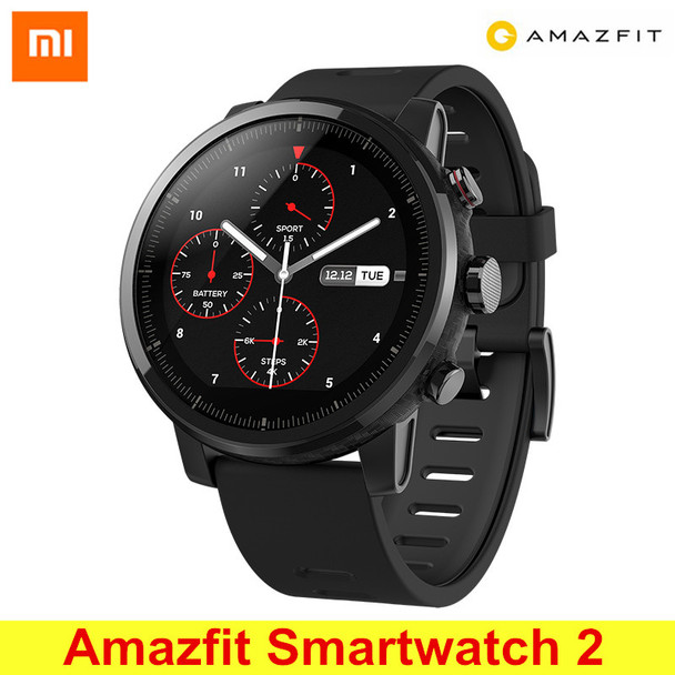 Huami Amazfit Smartwatch 2 Running Watch GPS Xiaomi Chip Bluetooth 4.2 Smart Watch Bidirectional Anti-lost for iOS Android