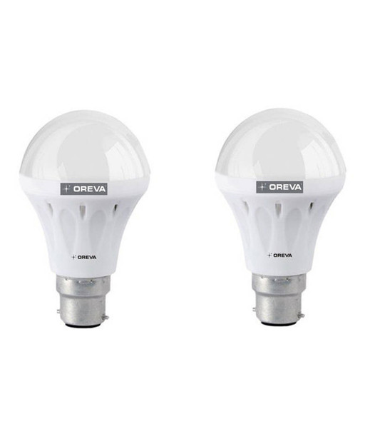 OREVA 8W ECO LED BULB - 2 PCS SET