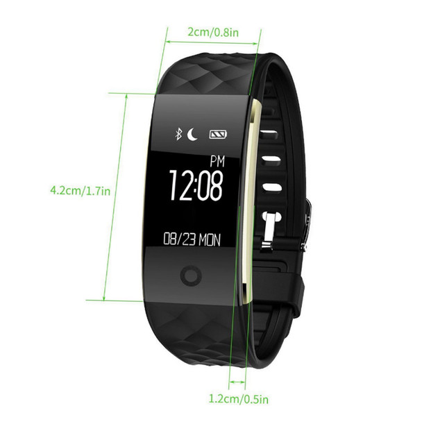S2 Smart Watch With Heart Rate Monitor Pedometer Cycling Fitness Tracker Bracelet Reminder Smartwatch for iphone Android -2