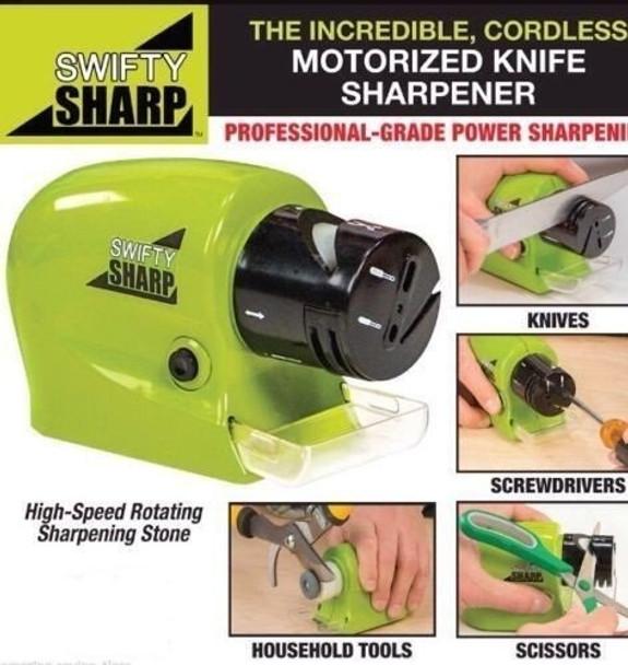 Power Knives Sharpener Swifty Sharpener Precision Scissors Sharp Tool Home Kitchen Electric Grind Machine