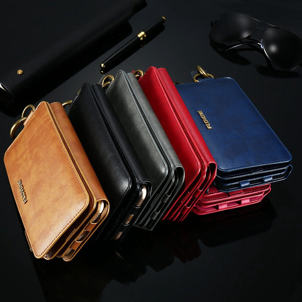 FLOVEME PU Leather Case For iPhone X 8 7 6s 6 Plus 5 5s SE Retro Wallet Cover Protective Phone Bag For iPhone 8 6 7 Plus Shells