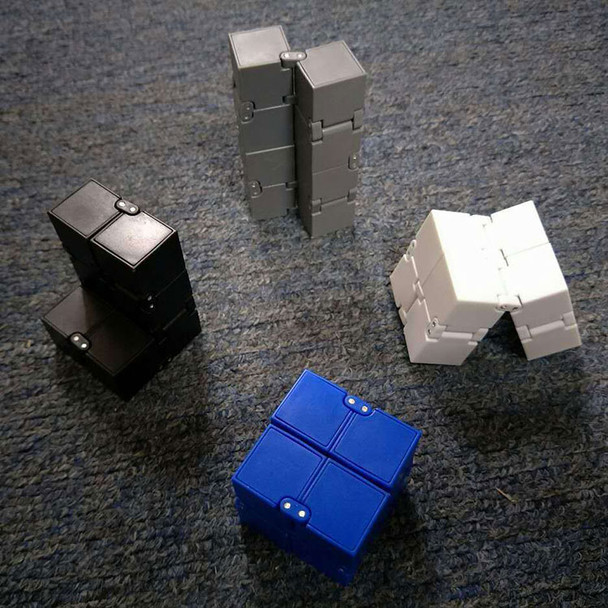 New Trend Creative Infinite Cube Infinity Cube Magic Fidget cube Office flip Cubic Puzzle anti stress reliever autism toys