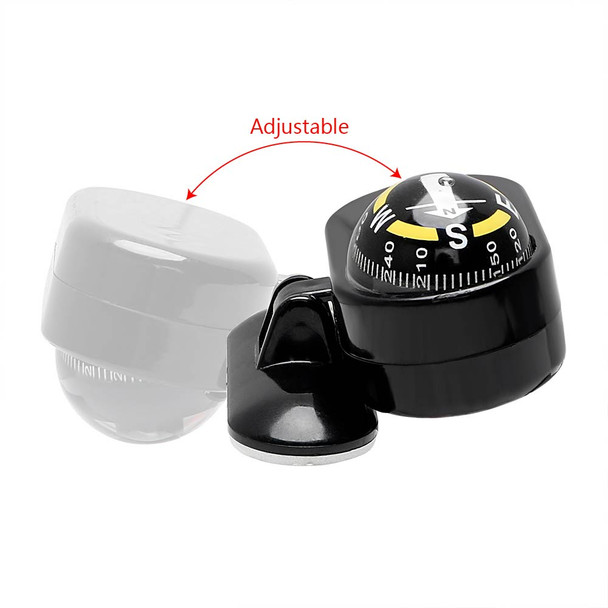 2 in 1 Car Compass and Thermometer for Dashboard Auto Accessories Car Ornaments Interior Accessories Car-styling Decoration