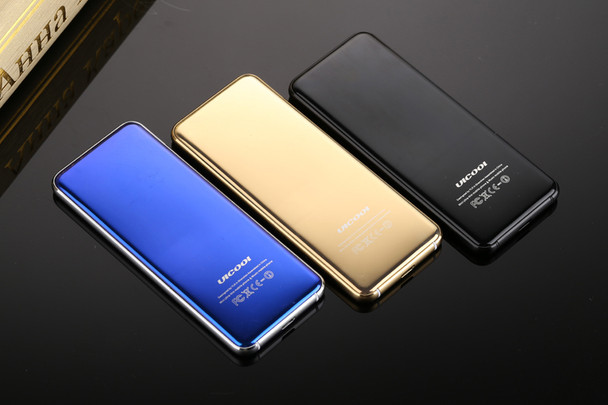 Original ULCOOL V6 V66 Luxury Phone Super Mini Ultrathin Card phone with MP3 Bluetooth 1.67inch Dustproof Shockproof mobile cell