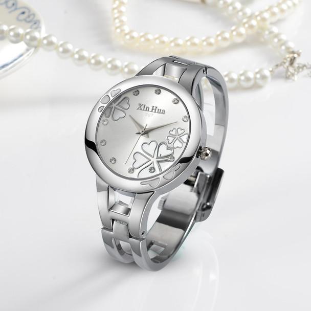 Women's Watches Fashion Flowers Bracelet Watch Women Watches Luxury Crystal Ladies Watch Clock relogio feminino reloj mujer saat