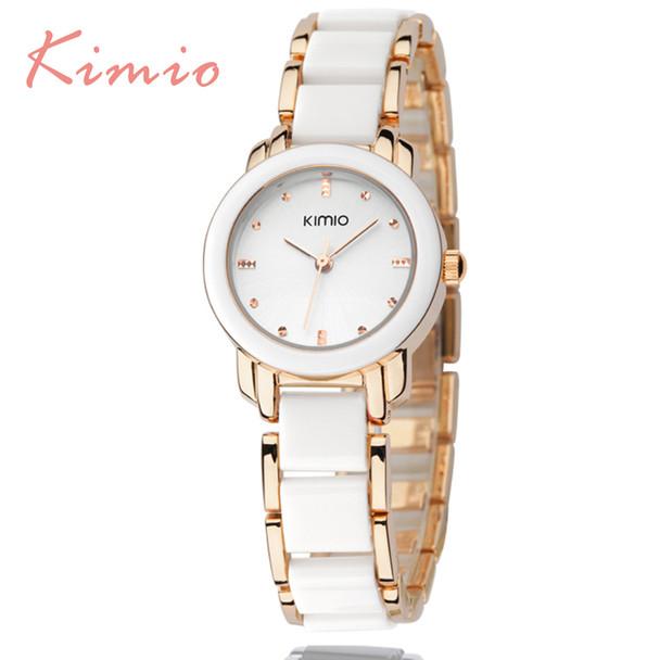 KIMIO Quartz Ladies Watch Female Golden Bracelet Watches Women Famous Luxury Brand 2017 Fashion Women's Watches For Women Dress