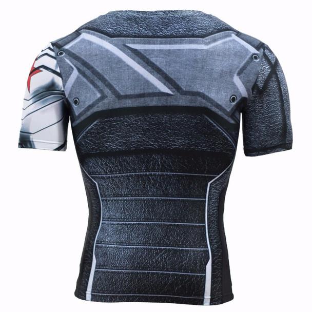 Winter Soldier 3D Printed T-shirts Men T Shirt Captain America Civil War Tee Marvel Avengers iron man Fitness Male Crossfit Tops
