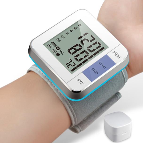 Cigii Smart Pulse Tester Cuffs digital detector Portable health care tools 1 pcs Newst Wrist blood pressure monitor