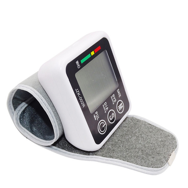 Beurha Household Wrist Type Microcomputer Intelligent Type Electronic  Blood Pressure Monitor Black Health Care Household Health