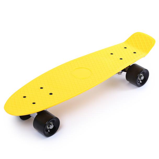 22 Inches Four-wheel Street Long Skate Board Mini Cruiser Skateboard For Adult Children Classic Retro Mini Cruiser 11 Color