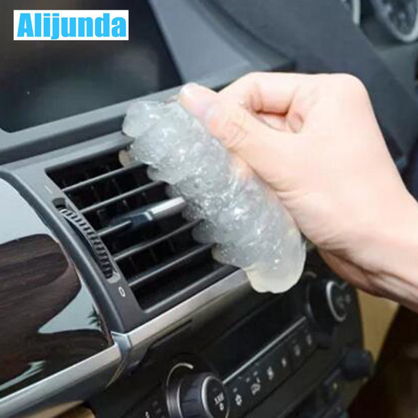Alijunda Alijunda 2017 Practical Cyber Super Clean Magical Dust Removal Compound Slimy Gel Wiper Keyboard Laptop