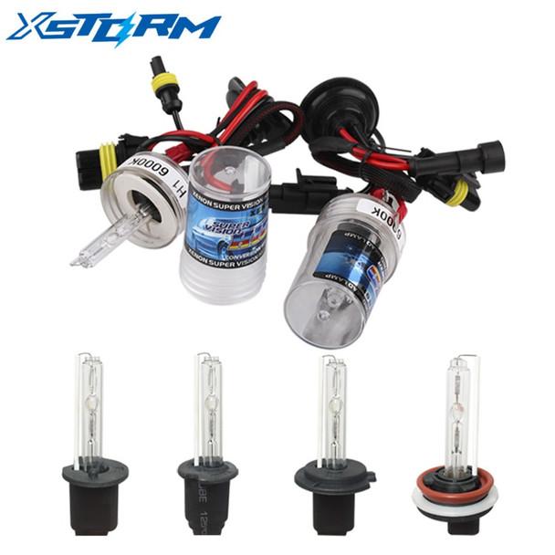 2Pcs Car Headlight HID Xenon H7 Bulbs 35W 55W H1 H3 H11 9005 9006 H27 4300K 5000K 6000K 8000K 10000K Fog Lights Auto Lamp 12V
