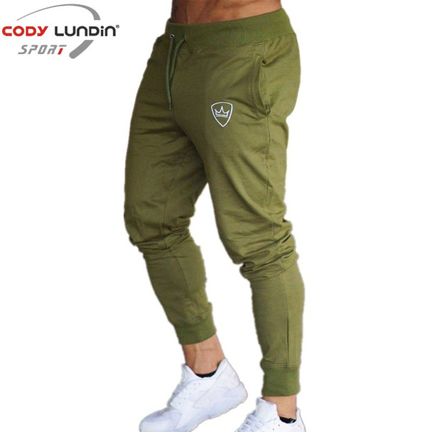 New Men Joggers Brand Male Trousers Casual Pants Sweatpants Jogger Dark grey Casual Elastic cotton GYMS Fitness Workout pant