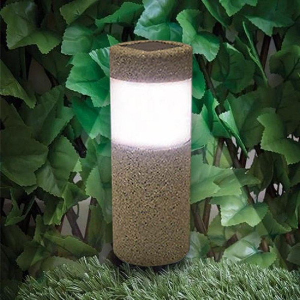 Outdoor Waterproof Lighting Cordless Solar Powered LED Garden Lights Light-operated Sand Blast Lamp