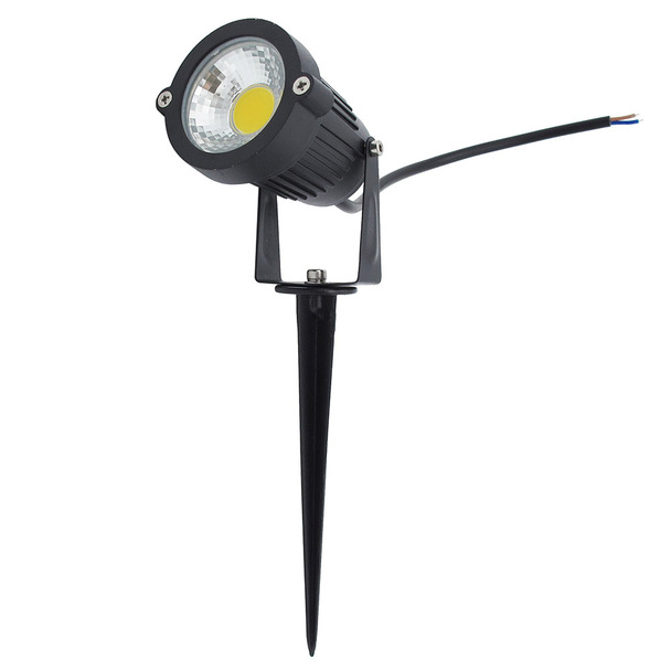 1pcs Outdoor IP65 Waterproof 15W LED COB Lawn Light Spike Type DC 12V Garden Lamp Christmas Street Bulb AC 85-265V Spotlight
