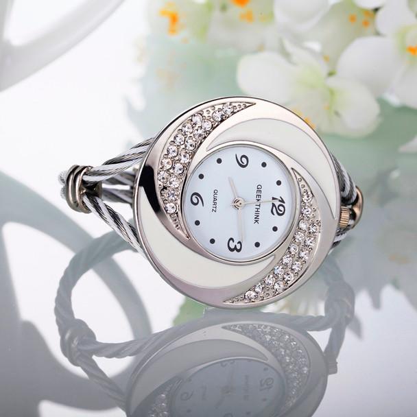 2017 Diamond Quartz Watches Women Luxury Brand Dress Watch Ladies Fashion Pink Colorful Watches Casual Style Wristwatch Female