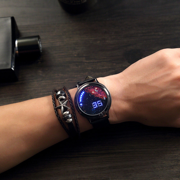 2017 New Digital Watches Men Led Watch Touch Screen Watch Led For Women Girls Male Sport Quartz Personality Watches Luxury Brand