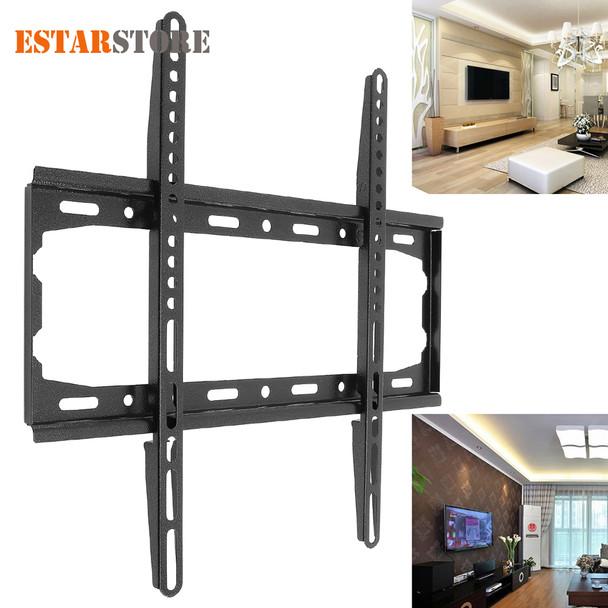 Universal 45KG TV Wall Mount Bracket Fixed Flat Panel TV Stand Holder Frame for 26-55 Inch Plasma TV HDTV LCD LED Monitor