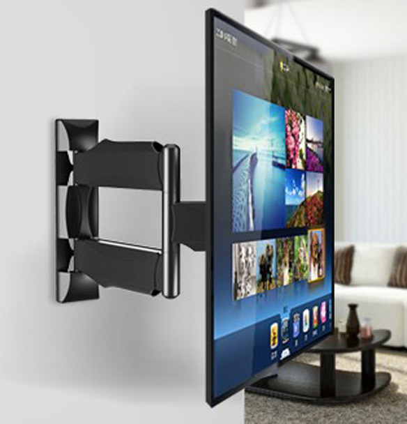 "NB DF400 Full Motion 32-52"" Flat Panel LED LCD Display TV Wall Mount Max.VESA 400*400mm Loading 32kgs Monitor Holder Support Arm"