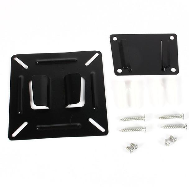 12 - 24 Inch TV Monitor Flat Screen VESA 75/100 LCD LED TV Wall Mount Bracket Flat Panel TV Holder Stand Bracket