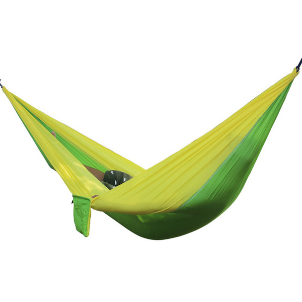Portable Outdoor Hammock 2 Person Camping Hiking Travel Kits Garden Leisure Hammock 6 Colors Parachute Hammocks