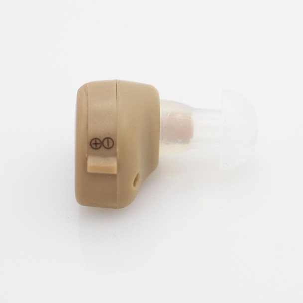 AXON K-80 Hearing Aid Portable Mini In The Ear Invisible Personal Sound Amplifier Adjustable Hearing Aids