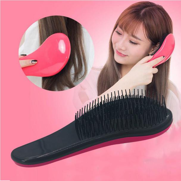 1pcs Hair Brush Magic Detangling Handle Show Er Anti-Static Comb Salon Styling Tamer Tool for Women Massager Detangle Brush