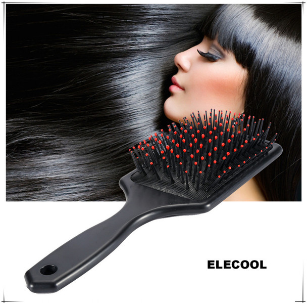Hot Sale Black Airbag Scalp Massage Comb Hair Comb Brush Plastic Plate Comb Aanti-Static For Travel Stryling Tools Hair Brush