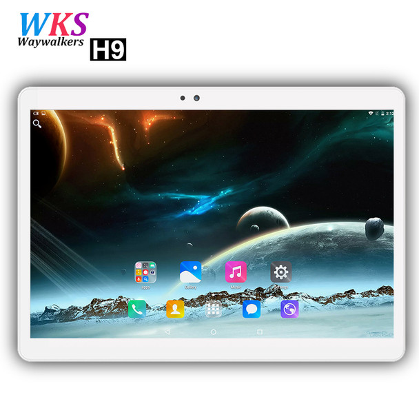 Waywalkers H9 10 inch tablet PC 4G LTE Android 7.0 octa core RAM 4GB ROM 64GB 1920*1200 IPS Dual SIM WIFI smart tablets 10.1 10