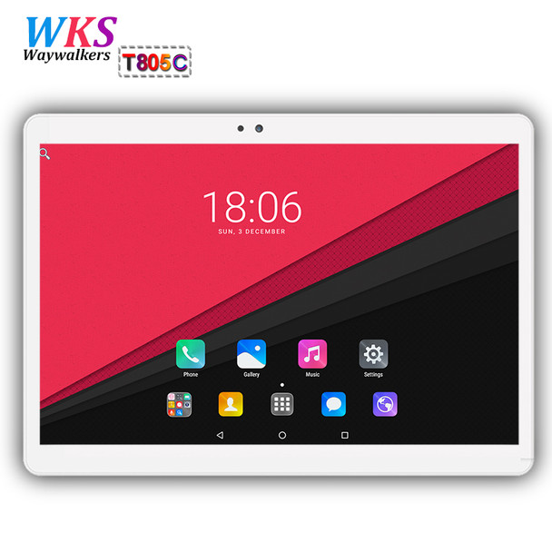 10.1 inch 3G/4G tablet PC Android 7.0 4GB RAM 64GB ROM 8 Core Dual SIM Card WIFI Bluetooth Call phone Gifts MID tablets 10 10.1