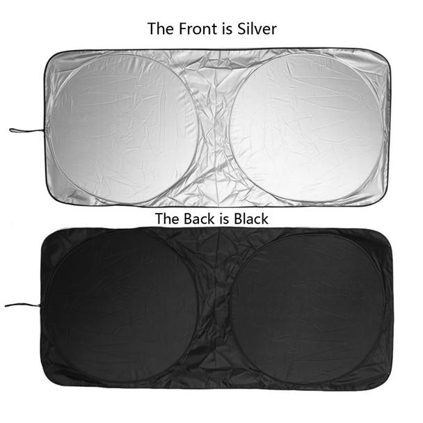 150 x 70cm Car Sunshade Sun shade Front Rear Window Film Windshield Visor Cover UV Protect Reflector Car-styling High Quality