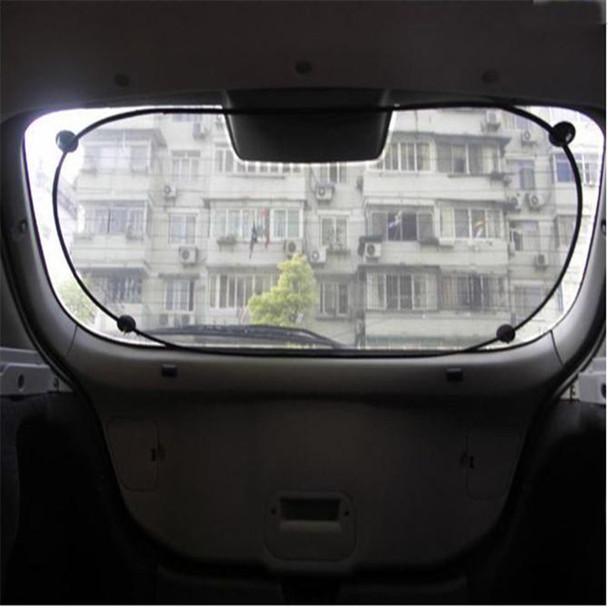 Tech Car Rear Window Sunshade Sun Shade Cover Visor Mesh Shield High Quality car-styling car accessories