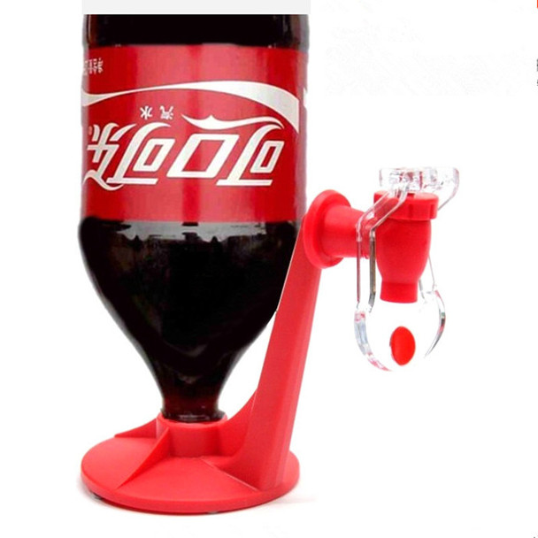 Kitchen and Dining Bar Tools Switch Plastic Drinking Beverage Dispenser Mini Soda Upside Down Drinking Fountains Cola HA10487 20