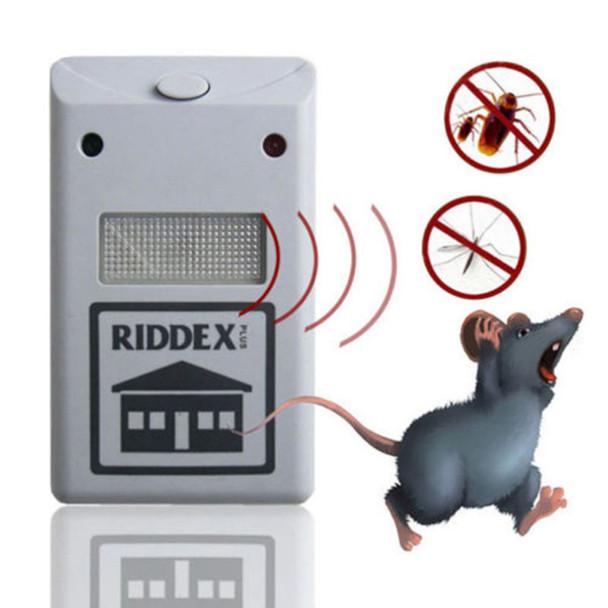 Pest Control EU US Plug Electronic Ultrasonic Rat Mouse Repellent Anti Mosquito Repeller Rodent Pest Bug Reject Mole Repeller
