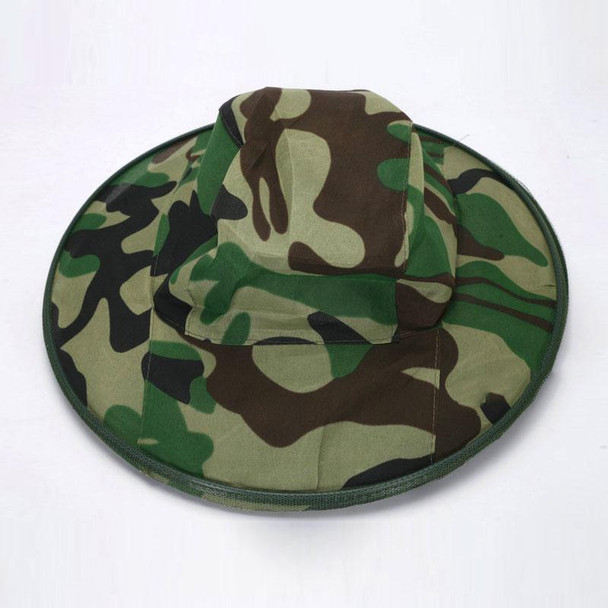 Camping Fishing Hunting Insect Anti Mosquito Bug Bee Hat Camouflage Face Mesh Caps Drop Shipping