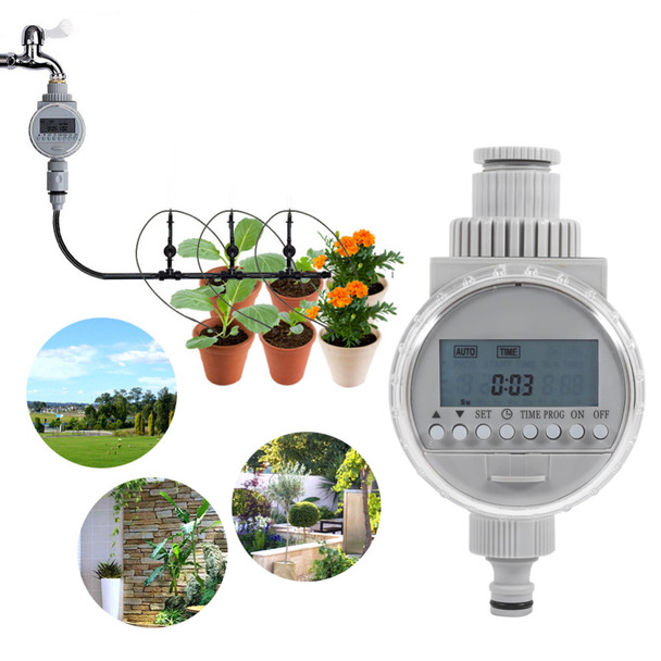 Automatic Electric Digital Gardening Irrigation Timer Intelligent Plant Flowers Watering Controller Garden Water Timer