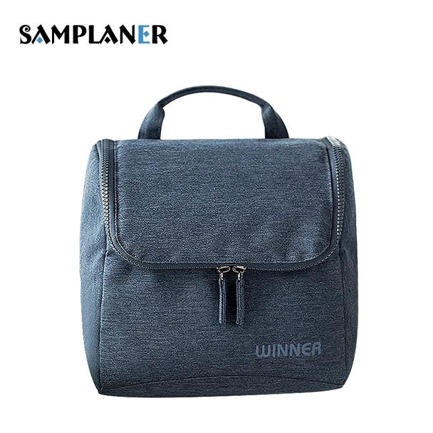 Samplaner Waterproof Cosmetic Bags for Men Women Travel Makeup Bags Washing  Toiletry Kits Solid Storage Bag Hanging Toiletry Bag 5d37ccaa5c0eb