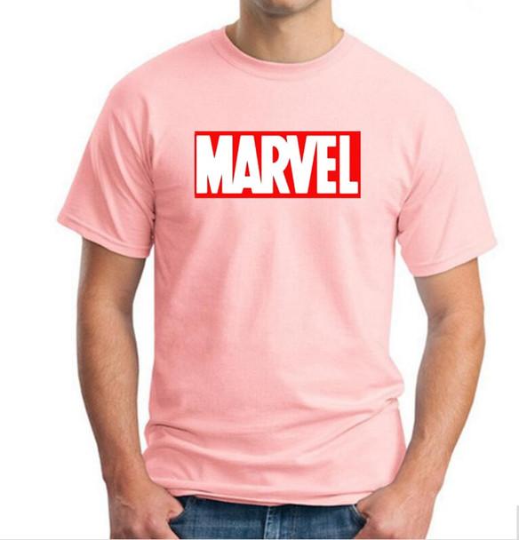 New Fashion MARVEL t-Shirt men cotton short sleeves Casual male tshirt marvel t shirts men tops tees
