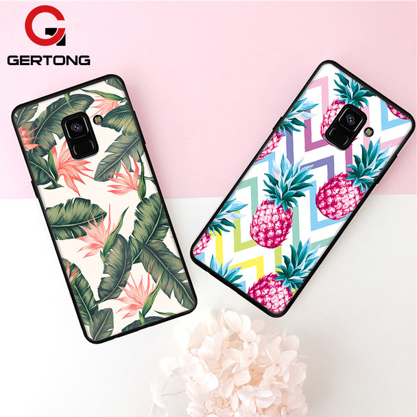 Soft TPU Pattern Case For Samsung Galaxy S9 S8 A8 Plus 2018 A7 A5 A3 2017 J5 J7 J3 2016 J2 Pro S7 S6 Edge Note 8 Cover Cases