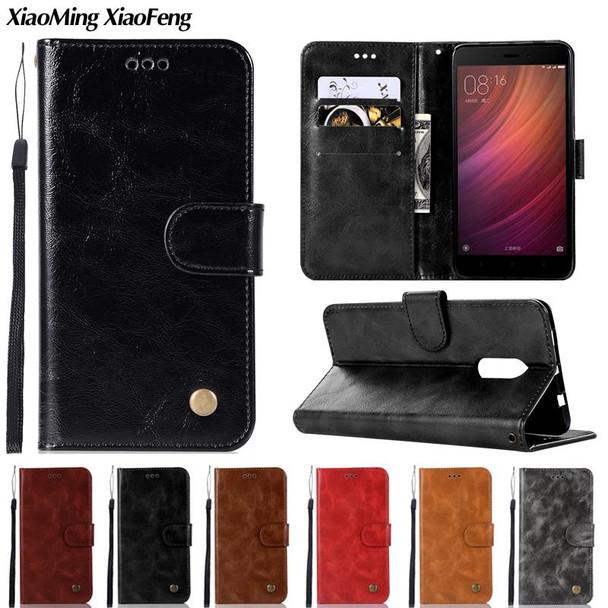 Leather Wallet Case For Xiaomi Redmi Note 4X 4 Case Flip Cover For Xiaomi Redmi Note 5A Phone Case Xiaomi Redmi 5A 4A 4X 4 Coque
