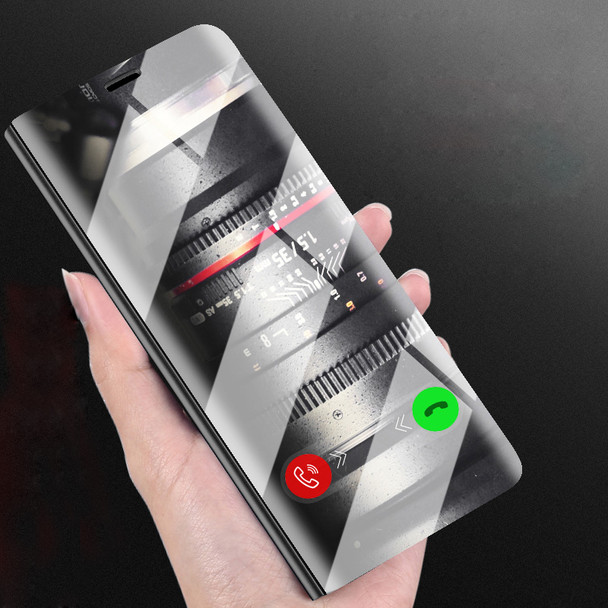 sale retailer 0cbaf 87b4e Luxury Mirror Flip Leather Cover For Xiaomi Redmi Note 5 4 4X 5A Pro Redmi  5 Plus Mi Note 3 5X A1 6X Mix 2 Clear Smart View Case