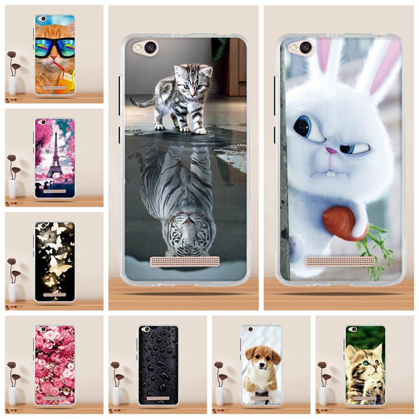Cover Case For Xiaomi Redmi 4A Case Cover for Xiaomi Redmi 4 A Cover 3d Soft Mobile Phone Case for Xiaomi Redmi 4A Silicone Case