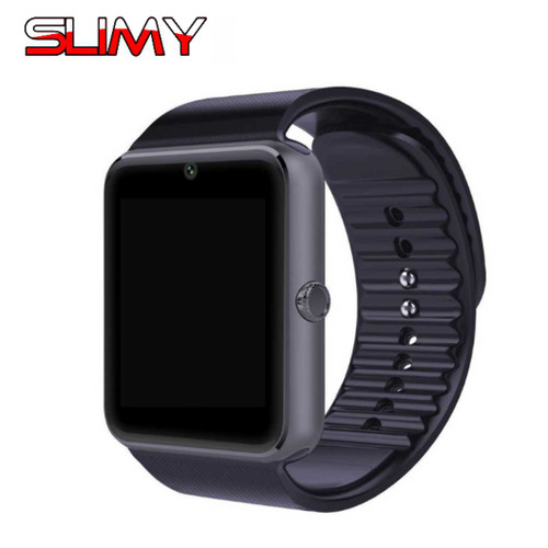 87db3b27f84 Slimy GT08 Smart Watch Bluetooth Smartwatch Wristwatch for Apple iPhone IOS  Android Phone Intelligent Clock Sport Watch PK DZ09 - OnshopDeals.Com