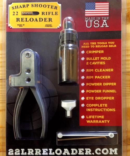 .22 Long Rifle Reloading Kit