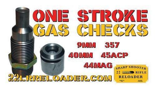 One-Stroke Gas Check Making Die