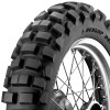 Dunlop D606 Tire Combo Dual Sport DOT tires,Full Knobby
